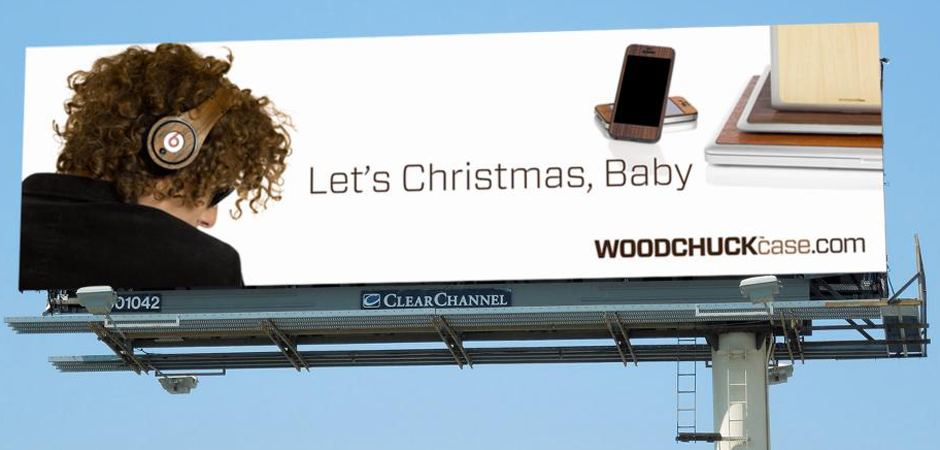 Work – WOODCHUCKcase Billboard